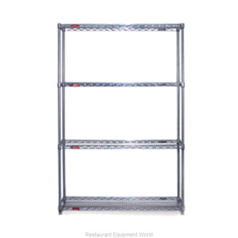 Eagle S4-74-2472V-X Shelving Unit, Wire
