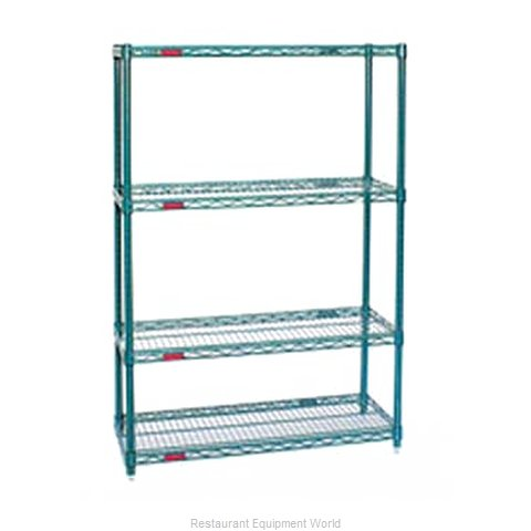 Eagle S4-74-2472VG Shelving Unit, Wire