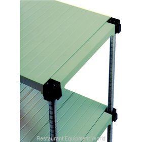 Eagle S4-74S-S1830PM Shelving Unit, Plastic with Metal Post