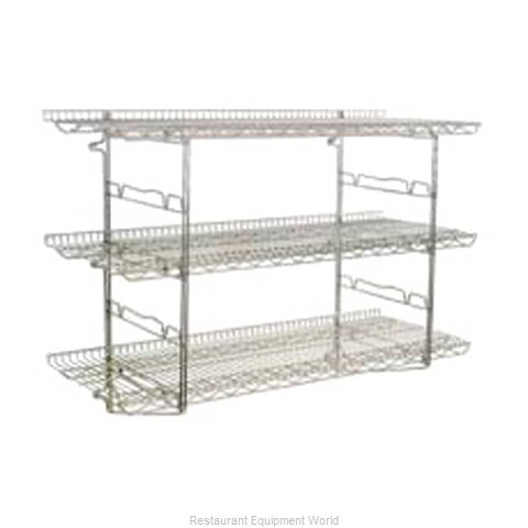 Eagle S5-5B-SSW1824C Shelving, Wall-Mounted