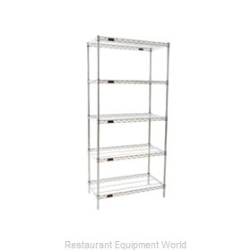 Eagle S5-74-2124C Shelving Unit, Wire