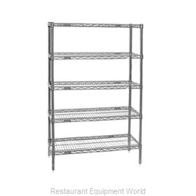 Eagle S5-74-2448V Shelving Unit, Wire
