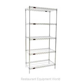 Eagle S5-74-2460S Shelving Unit, Wire