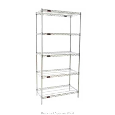 Eagle S5-74-2472S Shelving Unit, Wire (Magnified)