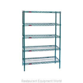 Eagle S5-86-1842VG Shelving Unit, Wire