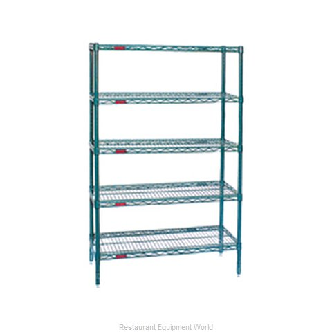 Eagle S5-86-2124E Shelving Unit, Wire (Magnified)