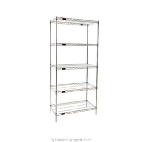 Eagle S5-86-2124Z Shelving Unit, Wire (Magnified)