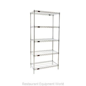 Eagle S5-86-2124Z Shelving Unit, Wire