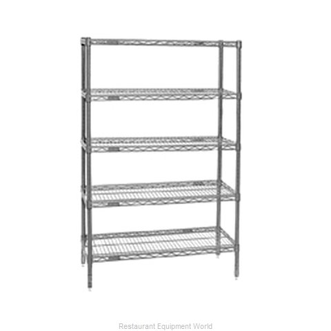Eagle S5-86-2448V Shelving Unit, Wire