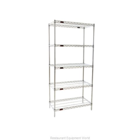 Eagle S5-86-2472C Shelving Unit, Wire (Magnified)