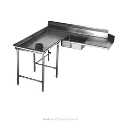 Eagle SDTCIL-72-14/3 Dishtable, Soiled