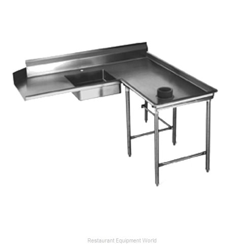 Eagle SDTCIR-60-14/3 Dishtable, Soiled