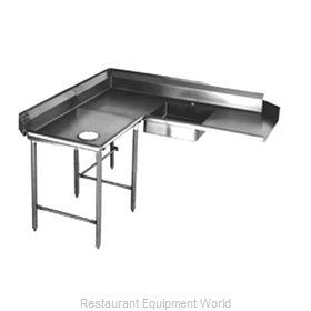 Eagle SDTCL-72-14/3 Dishtable Soiled