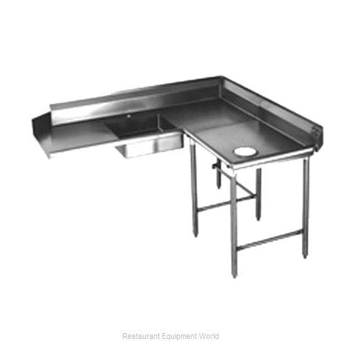 Eagle SDTCR-96-16/4 Dishtable, Soiled (Magnified)