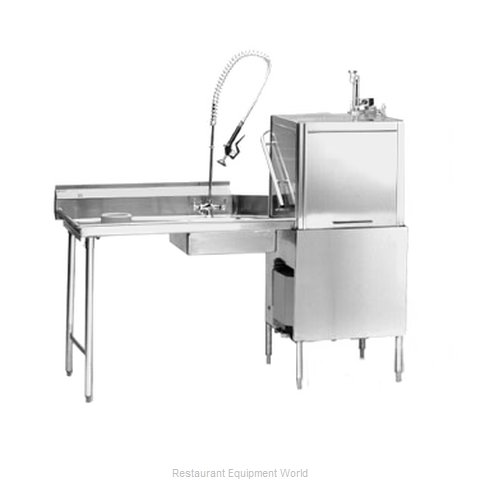 Eagle SDTL-72-16/3SL-X Dishtable Soiled