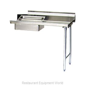 Eagle SDTR-72-16/4 Dishtable Soiled