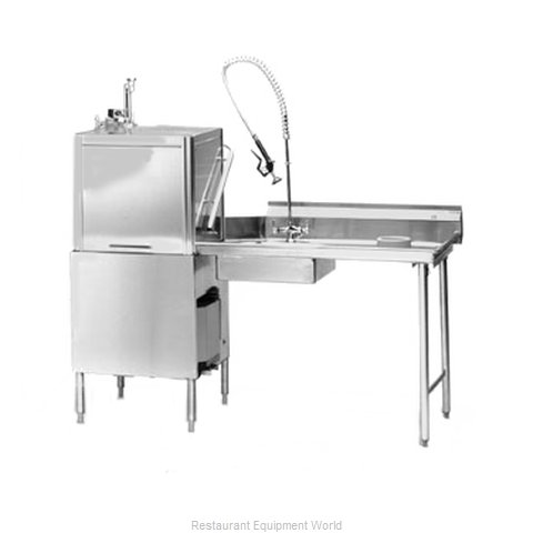 Eagle SDTR-72-16/4SL-X Dishtable Soiled
