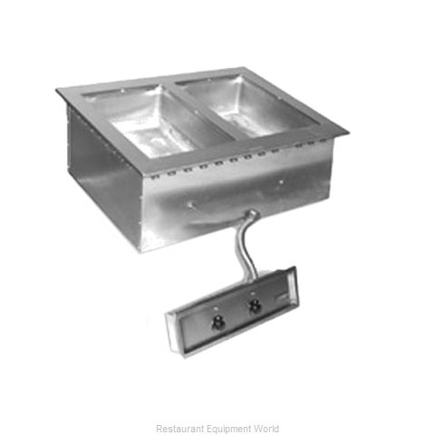 Eagle SGDI-2-240T6-D Hot Food Well Unit, Drop-In, Electric
