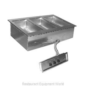 Eagle SGDI-3-120T-D Hot Food Well Unit, Drop-In, Electric