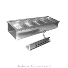 Eagle SGDI-5-240T-D Hot Food Well Unit, Drop-In, Electric