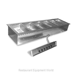 Eagle SGDI-6-240T6 Hot Food Well Unit, Drop-In, Electric