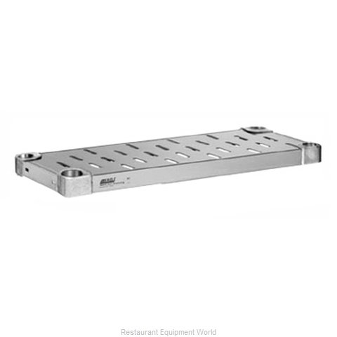Eagle SHDS2448VGL Shelving Louvered Slotted (Magnified)