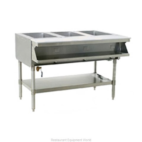 Eagle SHT2-208-3 Serving Counter Hot Food Steam Table Electric