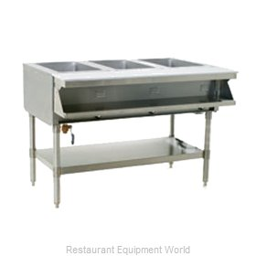Eagle SHT3-240-3 Serving Counter Hot Food Steam Table Electric