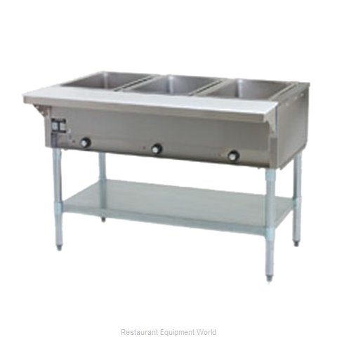 Eagle SHT3-LP Serving Counter, Hot Food, Gas