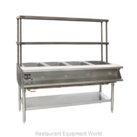 Eagle SHT4-240-FM-X Serving Counter Hot Food Steam Table Electric