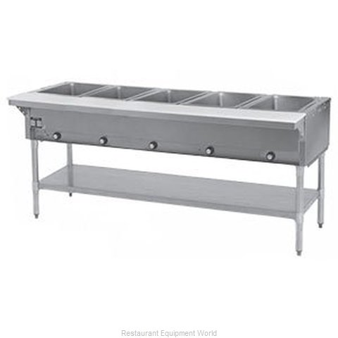 Eagle SHT5-LP Serving Counter, Hot Food, Gas