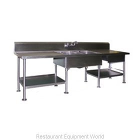 Eagle SMPT30108 Work Table, with Prep Sink(s)