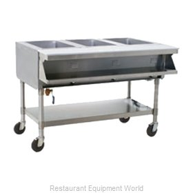 Eagle SPHT3-120 Serving Counter Hot Food Steam Table Electric