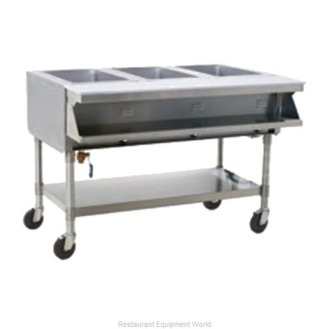 Eagle SPHT3-240-3 Serving Counter Hot Food Steam Table Electric