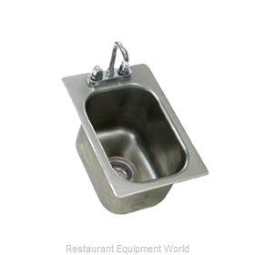 Eagle SR10-14-9.5-1-2X Sink Drop-In