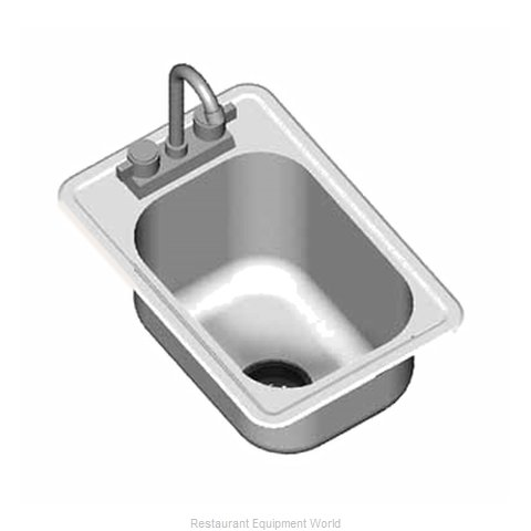 Eagle SR16-19-8-1 Sink, Drop-In (Magnified)