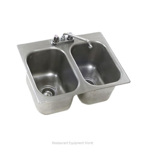 Eagle SR16-19-8-2 Sink, Drop-In (Magnified)