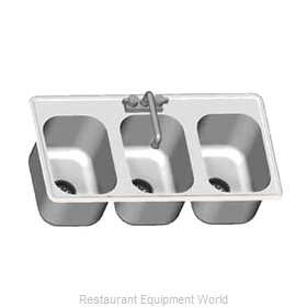 Eagle SR16-19-8-3 Sink, Drop-In