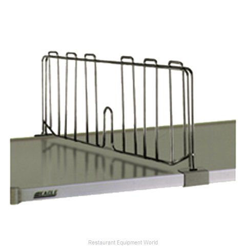 Eagle SSD24-C Shelf Divider, Wire (Magnified)