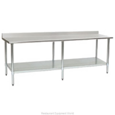 Eagle T24132B-BS Work Table 132 Long Stainless steel Top