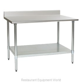 Eagle T24132EB-BS Work Table 132 Long Stainless steel Top