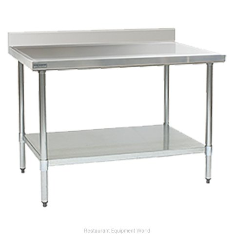 Eagle T24132EM-BS Work Table 132 Long Stainless steel Top