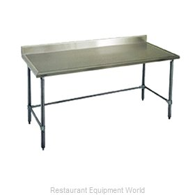 Eagle T24132GTEM-BS Work Table 132 Long Stainless steel Top