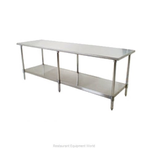 Eagle T24132SB Work Table 132 Long Stainless steel Top