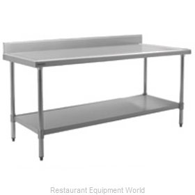 Eagle T24132SEM-BS Work Table 132 Long Stainless steel Top