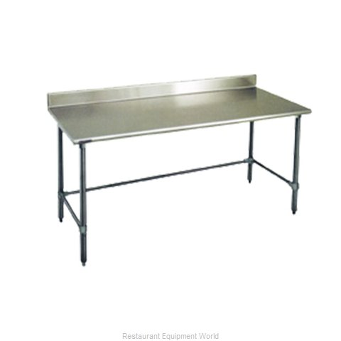 Eagle T24132STEB-BS Work Table 132 Long Stainless steel Top