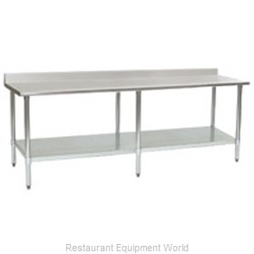 Eagle T24144B-BS Work Table 144 Long Stainless steel Top
