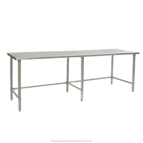 Eagle T24144STEB Work Table 144 Long Stainless steel Top