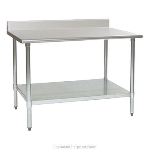 Eagle T2424B-BS-2X Work Table 24 Long Stainless steel Top