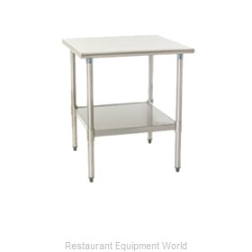 Eagle T2424SEB-1X Work Table 24 Long Stainless steel Top